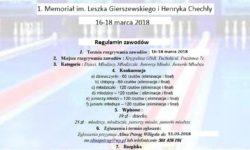 II Memoriał im. Leszka Gierszewskiego i Henryka Chechły