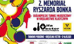 2. Memoriał Ryszarda Bonka – ZAPROSZENIE